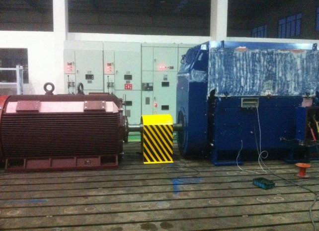 New WEM Medium Voltage electric motors -load test