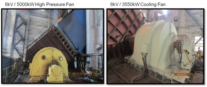 High pressure and cooling fan pictures INVT